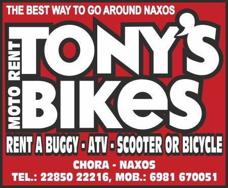tonys bikes