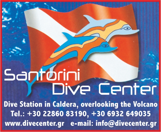 dive center santorini